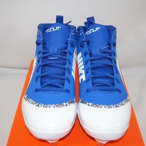 Nike Force Air Trout Pro Mid Baseball Cleats
